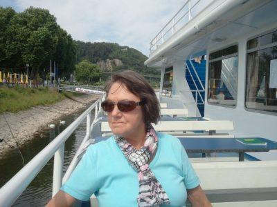 Chillen auf dem Rhein ist eh das Schönste