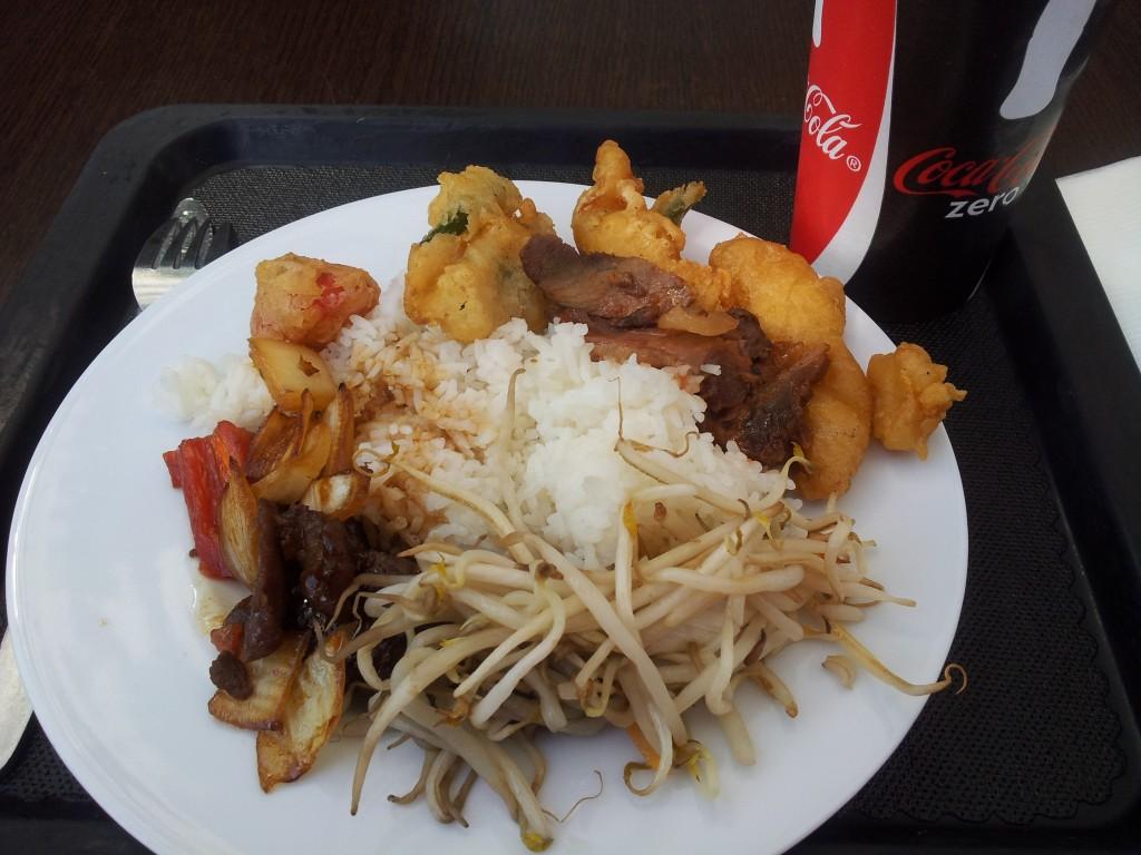Essen vom Buffet