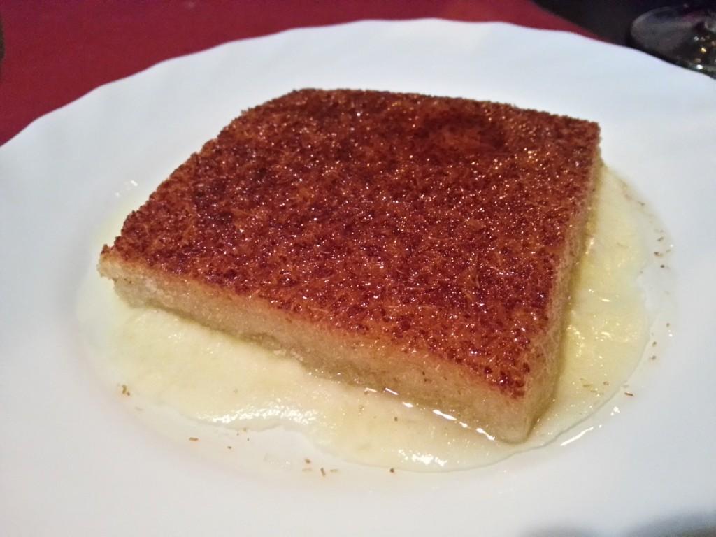 Kunafa: Glasnudeln mit Mozarella in süß