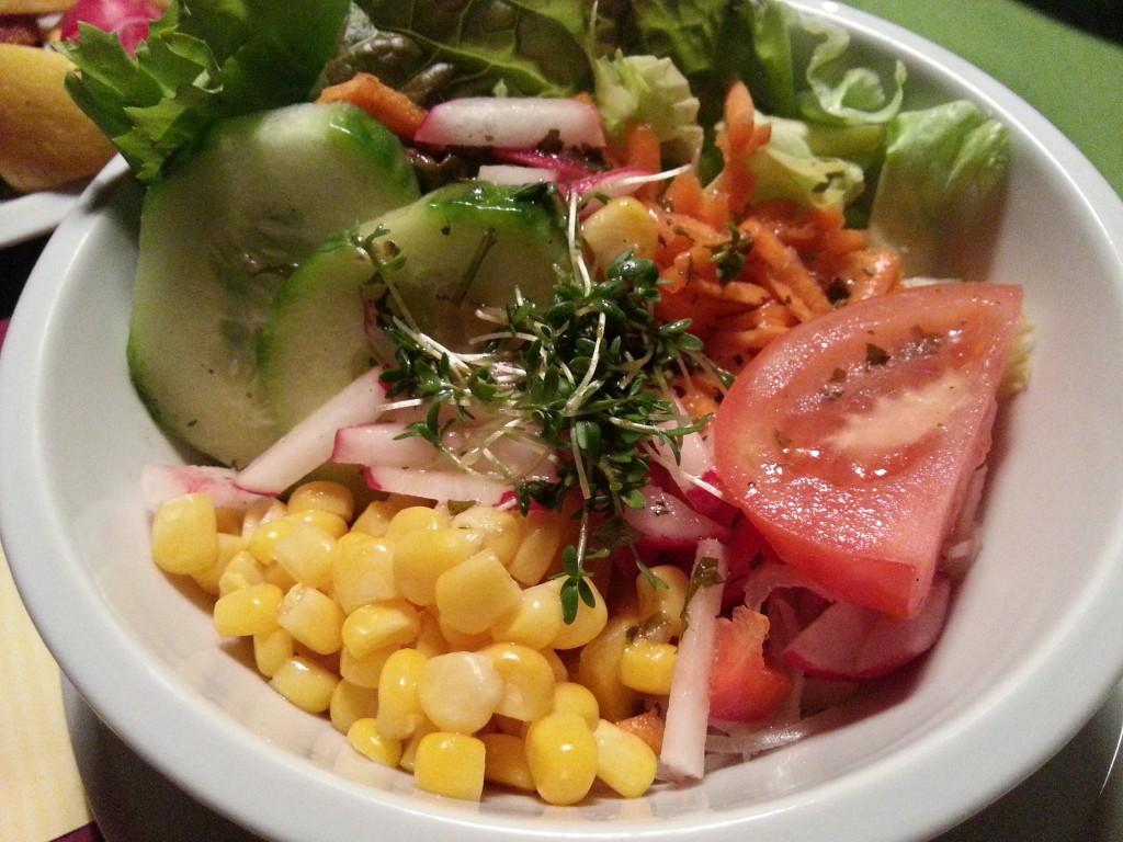 Salat zum Schnitzel