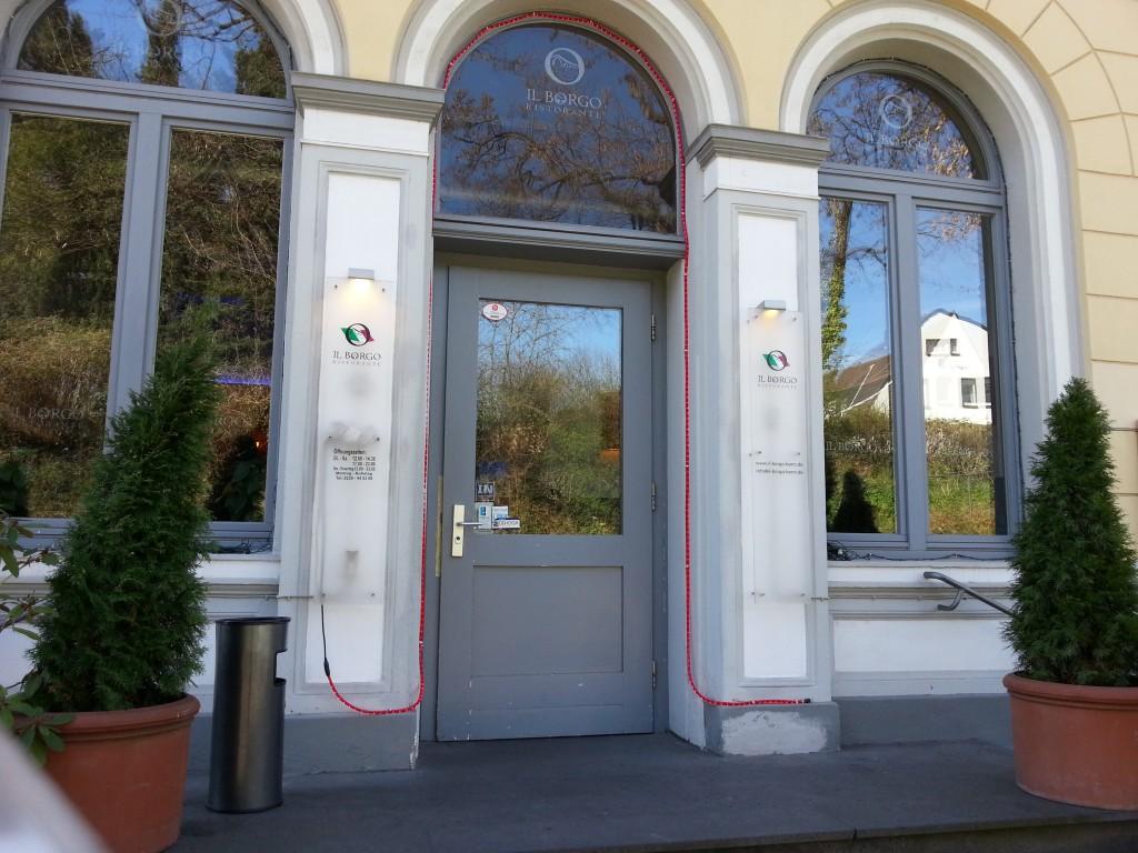 Eingang zum Il Borgo