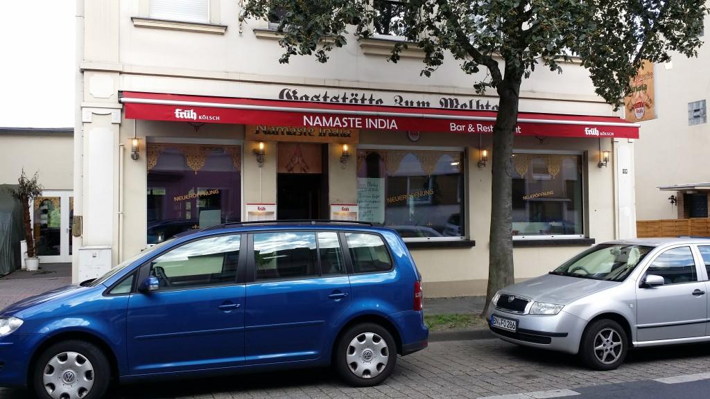 Aussenansicht des neuen Namaste in Ippendorf