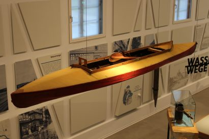 Das Faltboot wurde auch in Wolfenbüttel erfunden