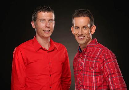Michael Iselt (links) und Dennis Besseler