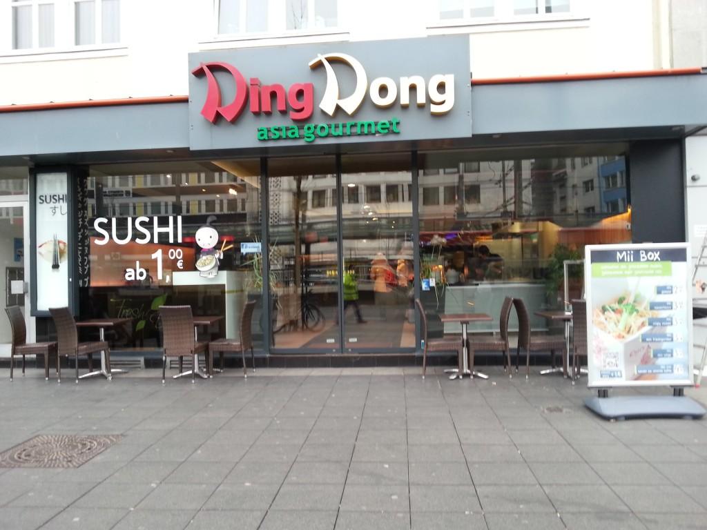 Das Ding Dong im Zentrum Bonns