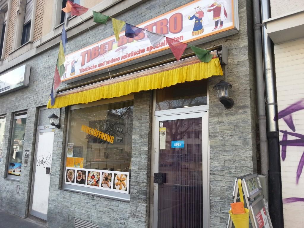 Auf der Kölnstr. ist das Tibetische Bistro