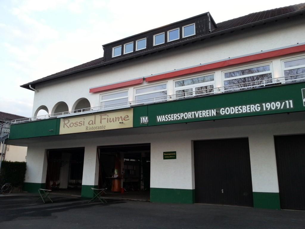 Über dem Wassersportverein ist das Restaurant