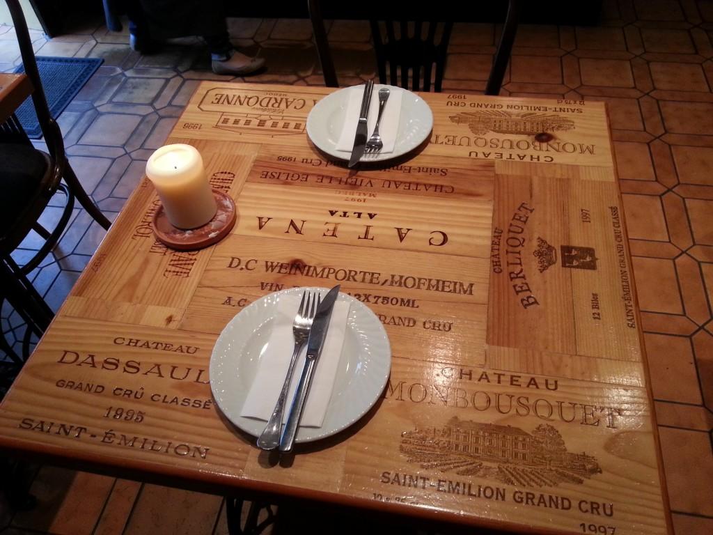 Wunderschöne Tische