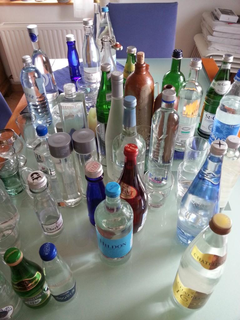 Die Vielfalt von Wasser