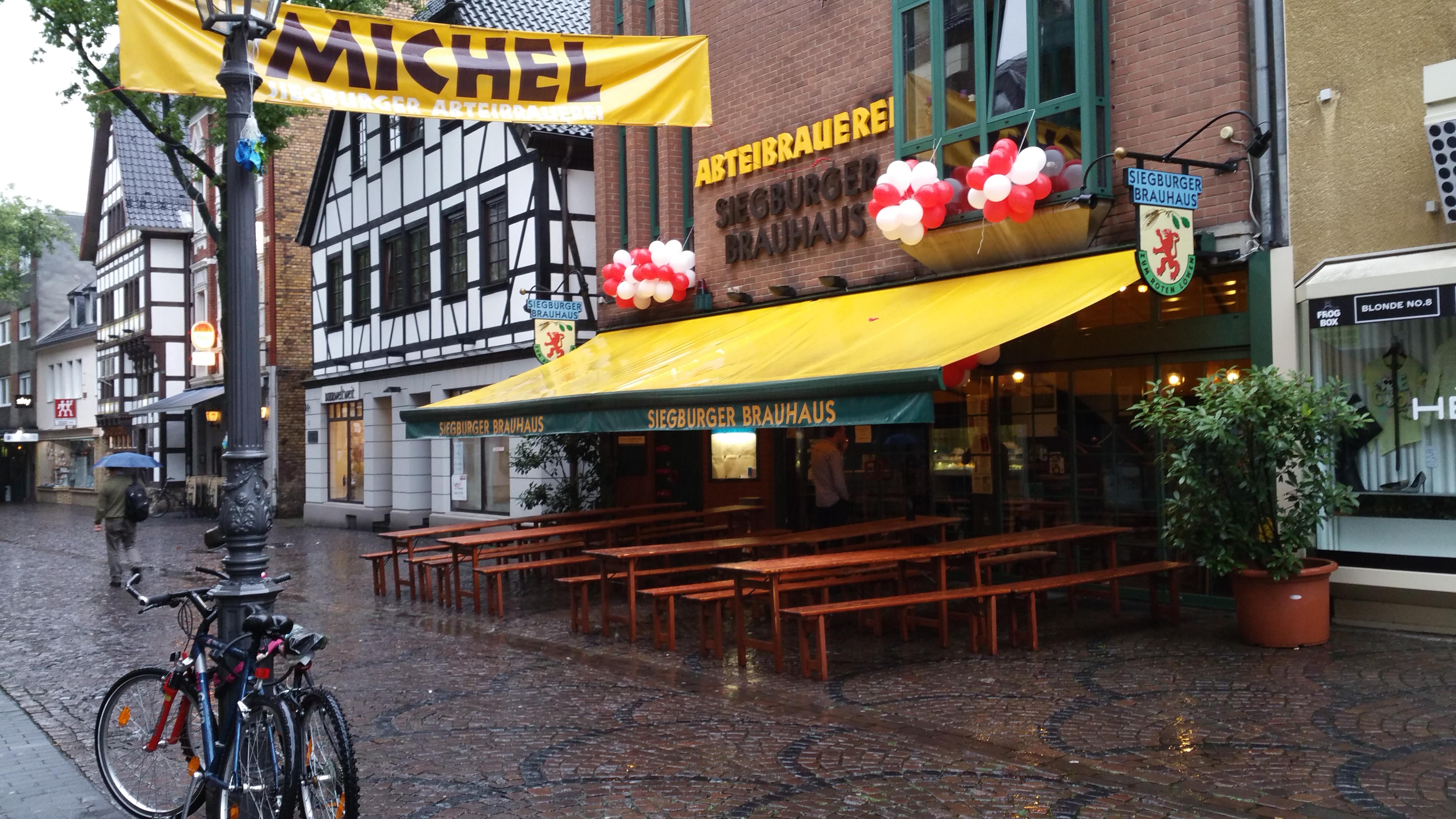 Siegburg: Siegburger Brauhaus – Bonn geht essen